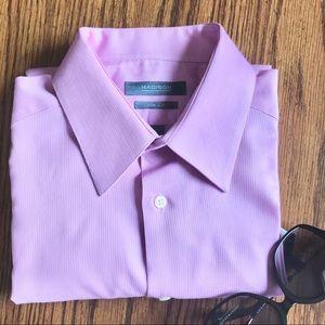 Madison Slim Fit Men's Button Down Shirt 32/33